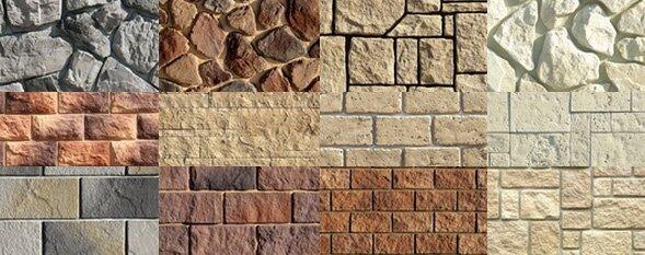 многообразие искусственных камней