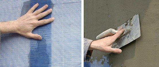 Утепление фасадов пенопластом - технология, стоимость, инструкция как утеплить фасад