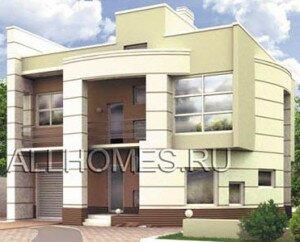 Проект дома с закругленными стенами
